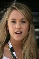 图文:[F1]巴林大奖赛正赛 巴顿的新女友