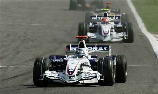 图文:[F1]巴林大奖赛正赛 宝马车队愈发稳定