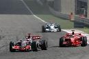 图文:[F1]巴林大奖赛正赛 阿隆索无优势可言