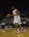 图文:[NBA]火箭VS太阳 麦迪带球进攻