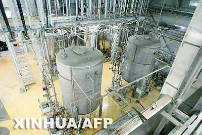 图为位于伊朗伊斯法罕的一处核设施-铀转换工厂。