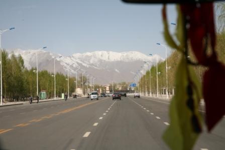 壮美的雪山风光