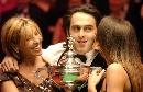图文:斯诺克世锦赛资料图 奥沙利文04年夺冠