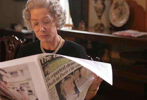 图:评委会主席弗里尔斯主要作品-- 《女王》