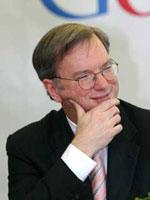 Google首席执行官施密特