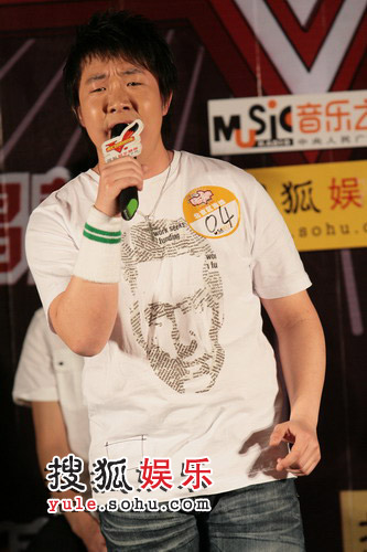 图:北京选拔25进5  孙晓亮这次没拿吉他
