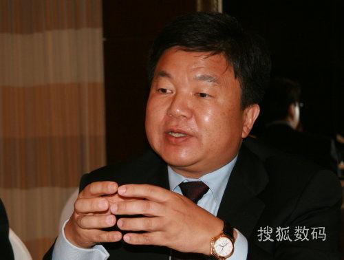英特尔高级副总裁 数字家庭事业部总经理金炳国先生