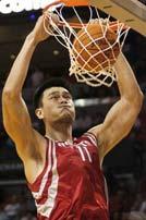 NBA第一中锋姚明