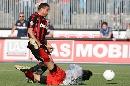 图文:[意甲]阿斯科利2-5米兰 罗尼险破门
