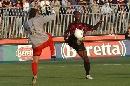 图文:[意甲]阿斯科利2-5米兰 西多夫破门瞬间