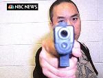 凶手赵承熙向NBC电视台寄出  录像和图片
