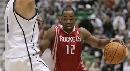 图文:[NBA]火箭vs爵士 街球王带球突破