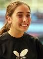 图文:乒球巡回赛智利站 卡斯特拉诺笑容灿烂