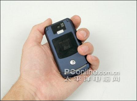 摩托罗拉V3X手机正面