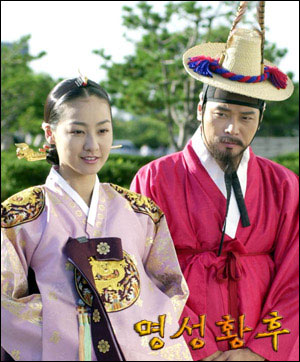 KBS特别企划的大型历史剧《明成皇后》