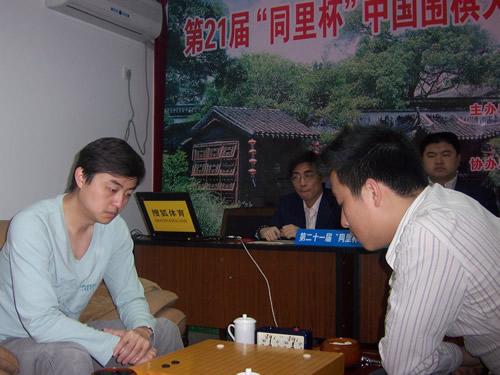 刘世振vs古力