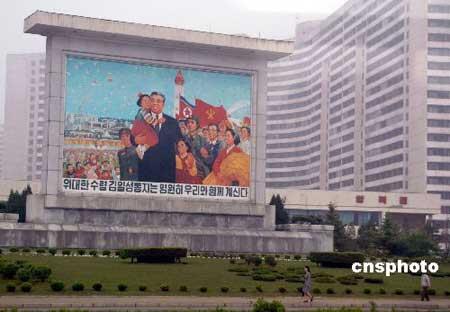 朝鲜平壤见闻 中新社发 涵乔 摄