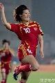图文:[女足]中国3-2明星联队 季婷狂野庆祝