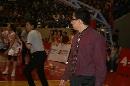 WCBA总决赛辽宁对八一 八一教练范斌脱掉外套