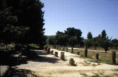 古代奥运会奥林匹亚体育场遗址