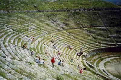 古代奥运会看台