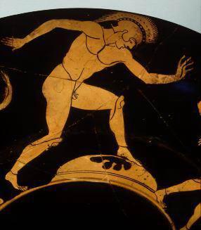 古代奥运会赛跑比赛