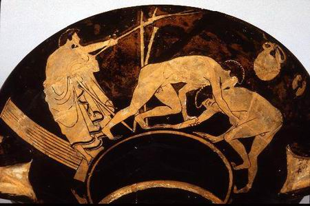 """古代奥运会""""五项全能""""比赛"""