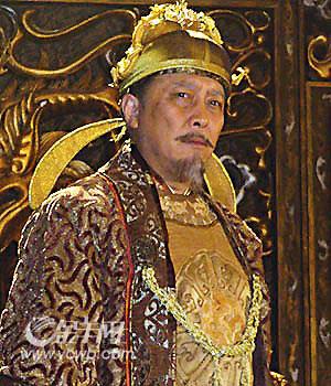 唐国强在《贞观长歌》中饰李世民