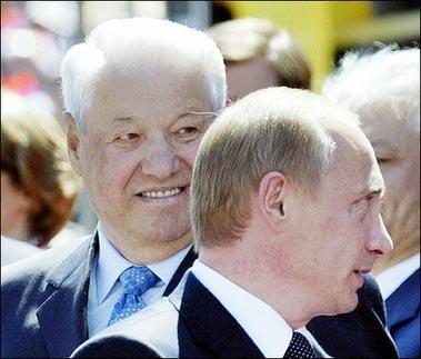 组图:叶利钦逝世 退休后与外国政要常来往