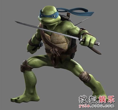 图:《忍者神龟》人物造型写真—10
