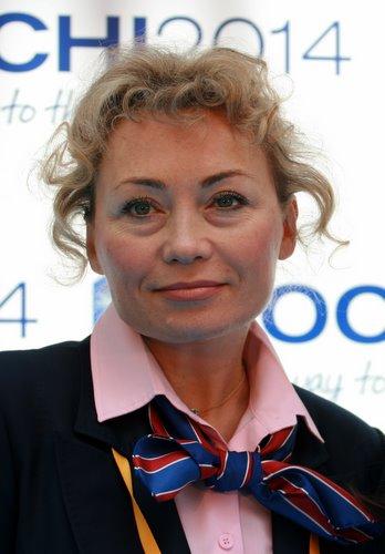 索契2014冬奥会申办委员会主席艾琳娜·阿尼科娜接受华奥搜狐专访