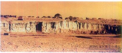 水洞沟古人类文化遗址