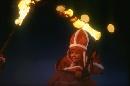 图文:1994年利勒哈默尔冬奥会 圣火传递过程