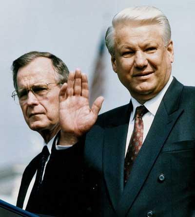 因心脏病去世 叶利钦今日下葬莫斯科 俄罗斯举国悼念