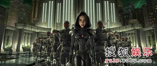 《忍者神龟》人物志—头号反派女忍者卡莱(图)