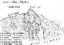 阿克苏北峰早期攀登路线图
