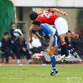 图文:[亚冠]上海申花0-0浦和 谢晖冲顶差之毫厘
