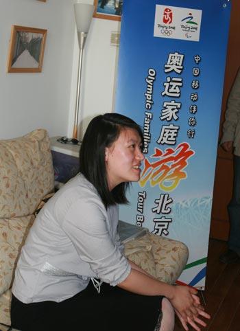 妈妈讲述奥运故事