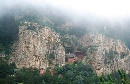 北岳恒山云雾美景