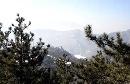 北岳恒山 淡淡云雾