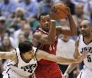 图文:[NBA]火箭vs爵士 海耶斯持球进攻