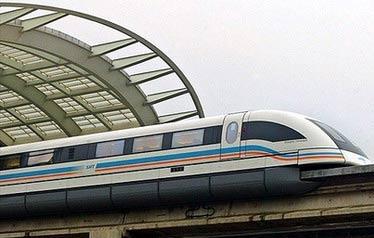 东京至山犁县的高速磁悬浮列车