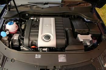 国产迈腾装备TSI双增压发动机图片