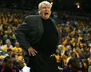 图文:[NBA]小牛VS勇士  老尼尔森场边大喊