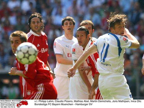 图文:[德甲]拜仁慕尼黑1-2汉堡 聚焦这一瞬间