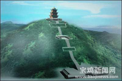 丰禾山佛教主题公园设计的恢宏壮观