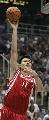 图文:[NBA]火箭vs爵士 姚明单手投篮