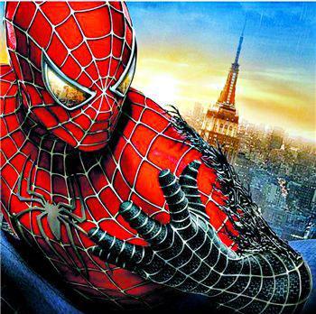 英雄 中国 集体/沙人、毒液、黑蜘蛛侠还有蜘蛛侠的前女友,身手各异的角色和四...