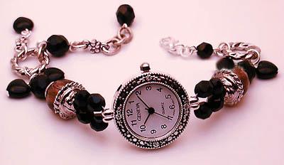 腕上风景 珠珠链腕表