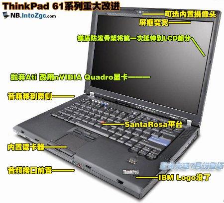 港版:过了5.1该选谁,ThinkPad 61大换血